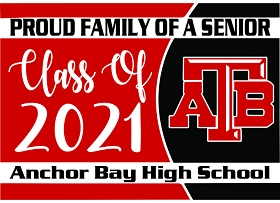 Anchor Bay Senior Yard Signs